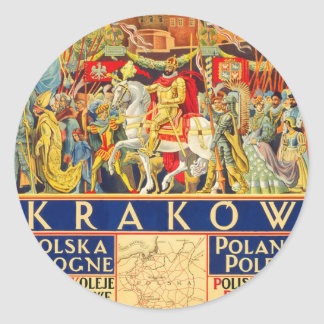 Adesivo Redondo Krakow