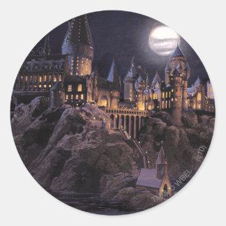 Adesivo Redondo Lago castle | de Harry Potter grande a Hogwarts