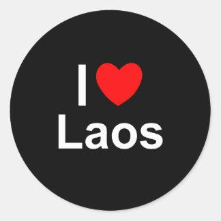 Adesivo Redondo Laos