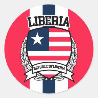 Adesivo Redondo Liberia