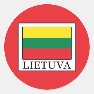 Adesivo Redondo Lietuva