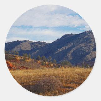 Adesivo Redondo Lince Ridge