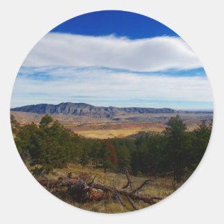 Adesivo Redondo Lince Ridge Colorado