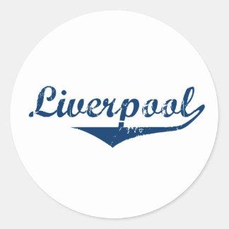 Adesivo Redondo Liverpool