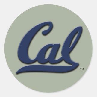 Adesivo Redondo Logotipo do Cal