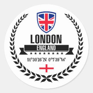 Adesivo Redondo Londres