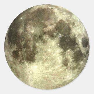 Adesivo Redondo Lua cheia