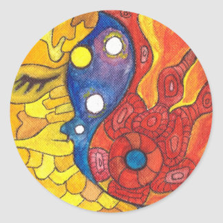 Adesivo Redondo Lua Sun de Medilludesign