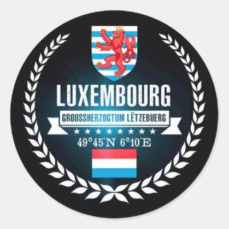 Adesivo Redondo Luxembourg