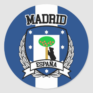 Adesivo Redondo Madrid