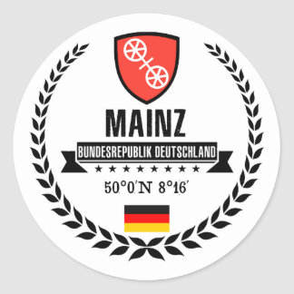 Adesivo Redondo Mainz