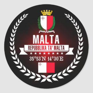 Adesivo Redondo Malta