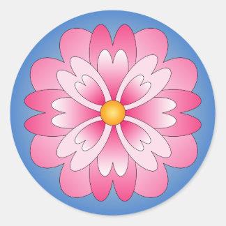 Adesivo Redondo Mandala