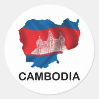 Mapa de Cambodia