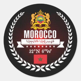 Adesivo Redondo Marrocos