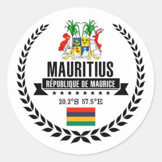 Adesivo Redondo Maurícia
