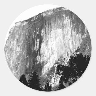 Adesivo Redondo MEIA ABÓBADA - Yosemite