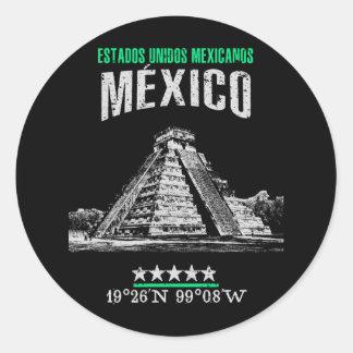 Adesivo Redondo México