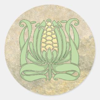 Adesivo Redondo Milho doce de Lughnasadh