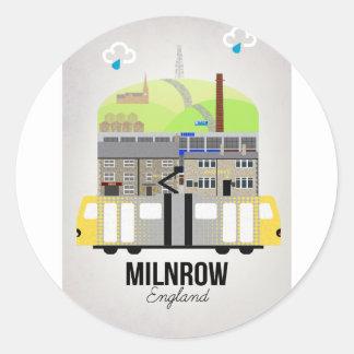 Adesivo Redondo Milnrow