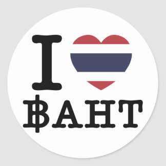 Adesivo Redondo Mim baht do coração (amor)
