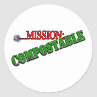 Adesivo Redondo Missão: COMPOSTABLE (4)
