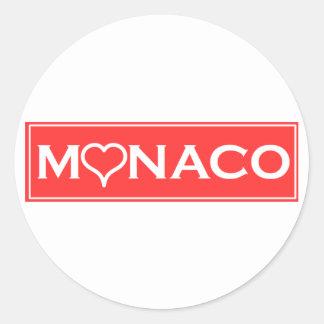 Adesivo Redondo Mónaco