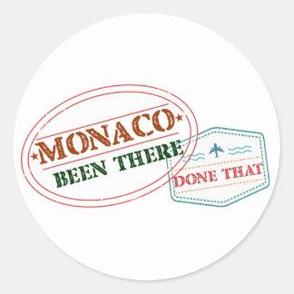 Adesivo Redondo Monaco feito lá isso
