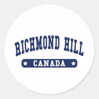 Adesivo Redondo Monte de Richmond