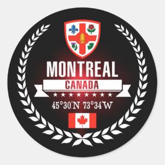 Adesivo Redondo Montreal