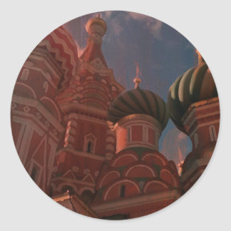 Adesivo Redondo Moscow_russia