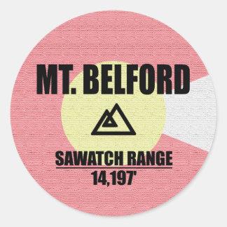 Adesivo Redondo Mt. Belford