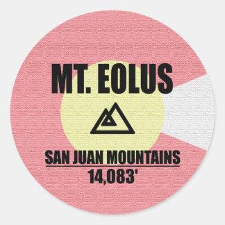 Adesivo Redondo Mt. Eolus
