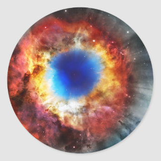 Adesivo Redondo Nebulosa da hélice