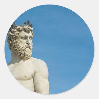 Adesivo Redondo Netuno em Florence02