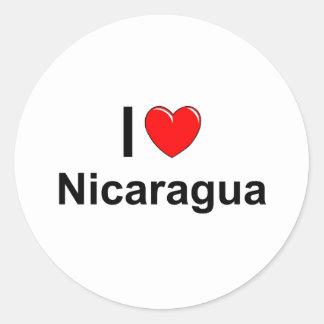 Adesivo Redondo Nicarágua