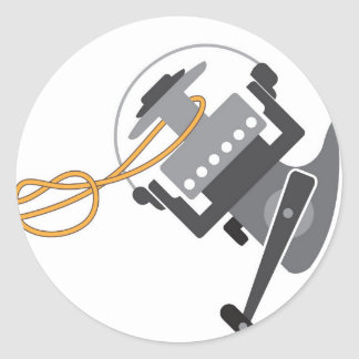 Adesivo Redondo Nó da pesca para conectar a linha ao vetor do