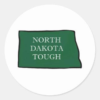 Adesivo Redondo North Dakota resistente