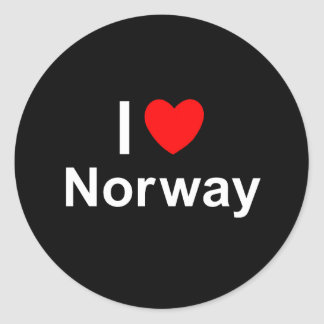 Adesivo Redondo Noruega