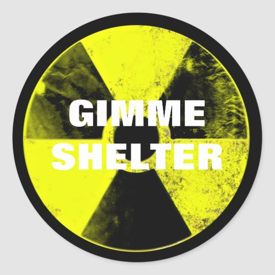 Adesivo Redondo nuclear weapons