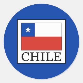 Adesivo Redondo O Chile