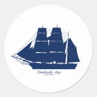 Adesivo Redondo O Dunbrody 1845 por fernandes tony