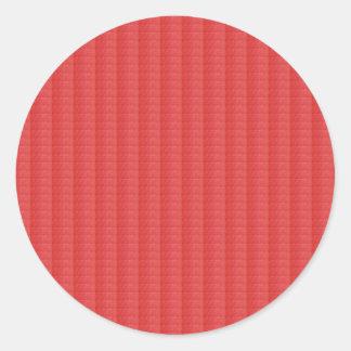 Adesivo Redondo O modelo anula a textura de cristal artística de
