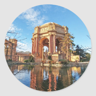 Adesivo Redondo O palácio de San Fransisco