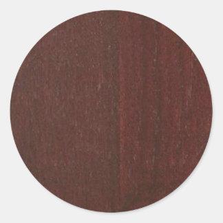 Adesivo Redondo O vazio de madeira DE MOGNO Blanche do COMPRAR do