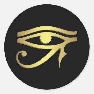 Adesivo Redondo Olho do horus