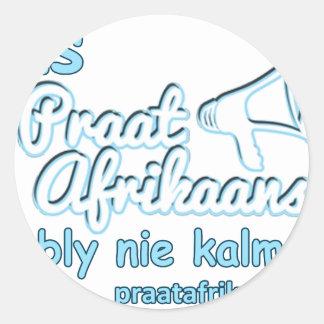 Adesivo Redondo ONS-Praat-Holandês