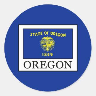 Adesivo Redondo Oregon