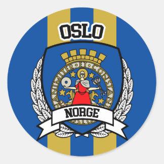 Adesivo Redondo Oslo