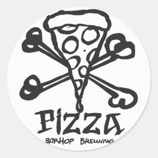 Adesivo Redondo Ossos da pizza